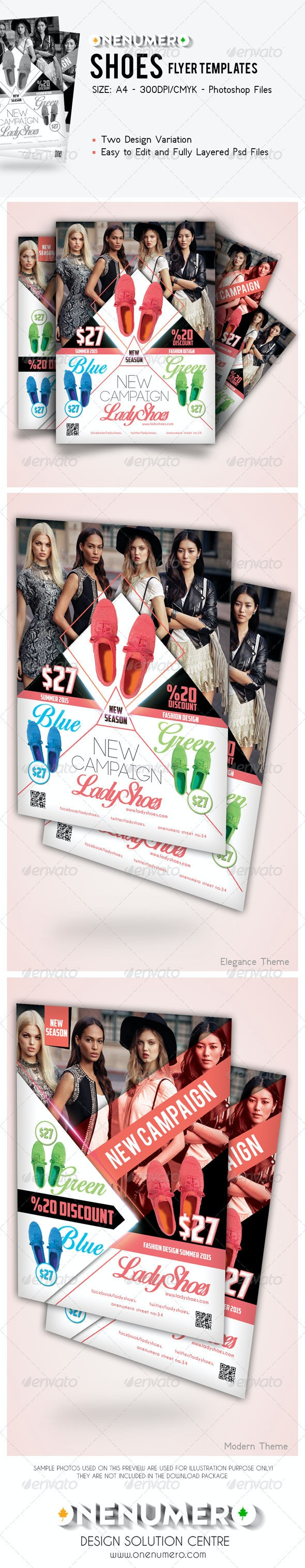 Shoes Flyer Templates - Commerce Flyers