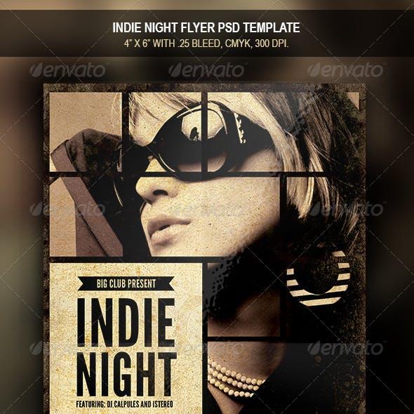 Indie Night | Flyer Template