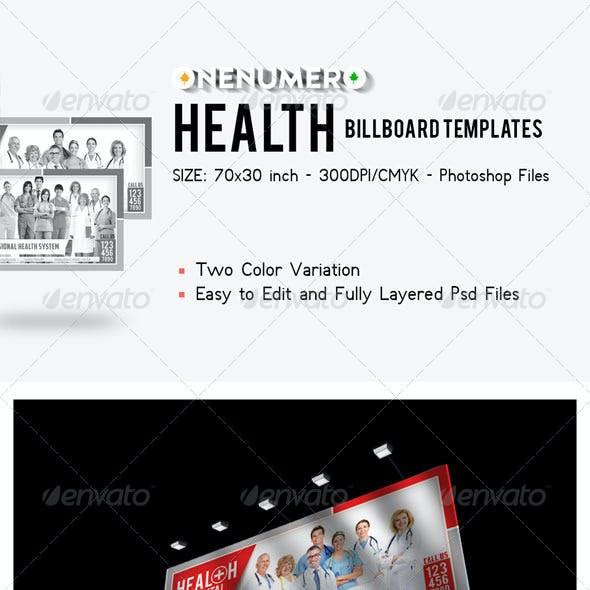 Health Billboard Templates