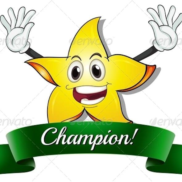 A champion star