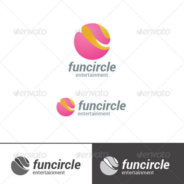 Sphere Logo Abstract Circle Shape