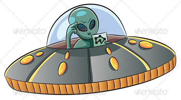 UFO Confused - Miscellaneous Characters