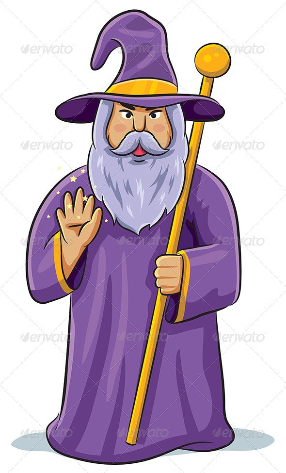 Wizard - People Characters