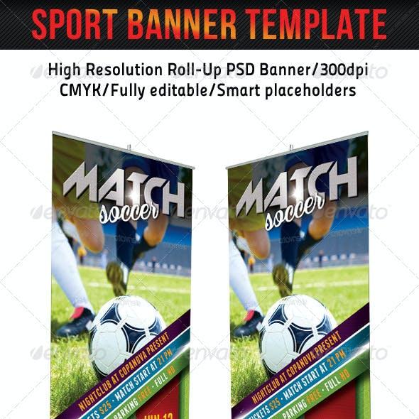 Sport Banner Template 19