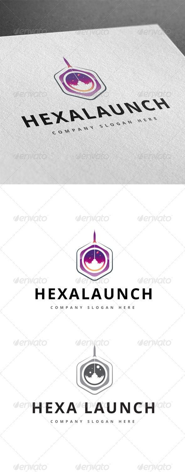 Hexa Launch Logo - Logo Templates