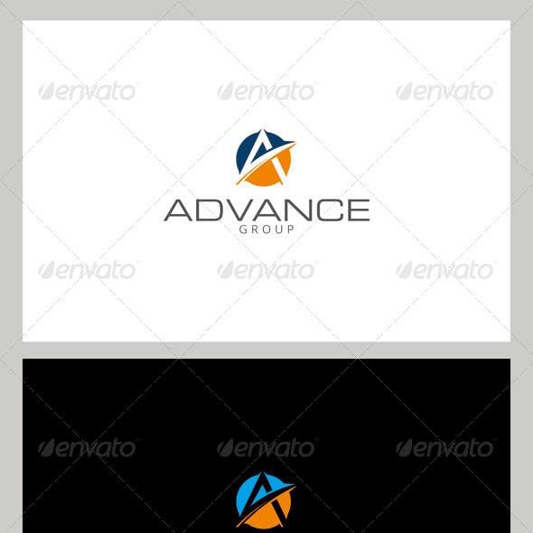 A / Advance Logo