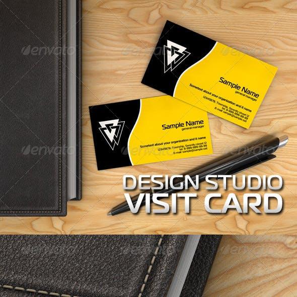 Visit Card Design Studio
