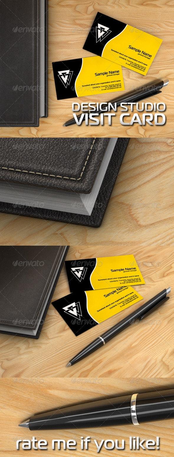 Visit Card Design Studio - Corporate Business Cards