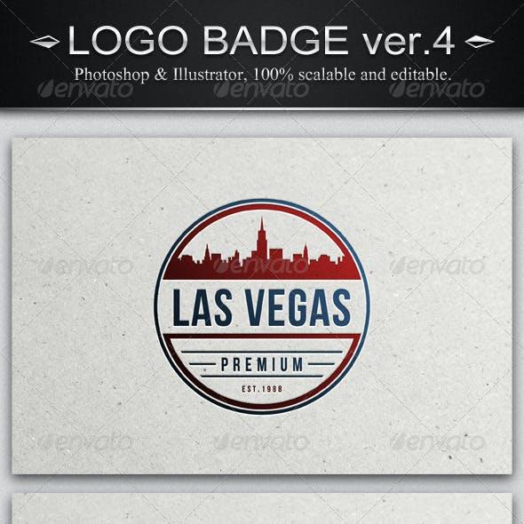 6 Vintage Logo Badges ver.4