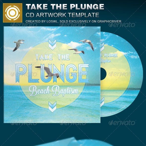 Take the Plunge CD Artwork Template