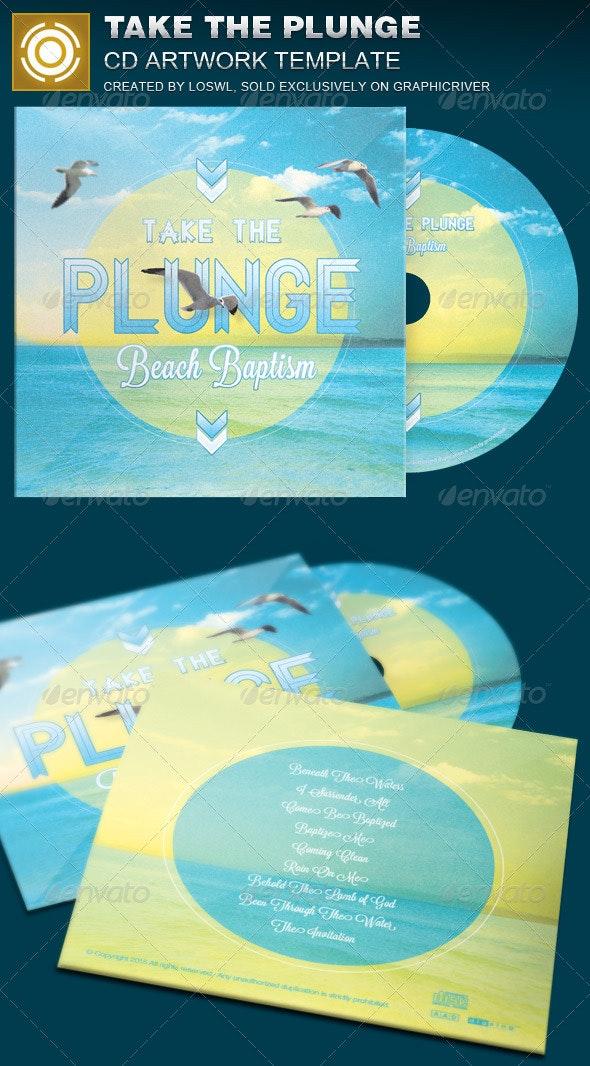 Take the Plunge CD Artwork Template - CD & DVD Artwork Print Templates