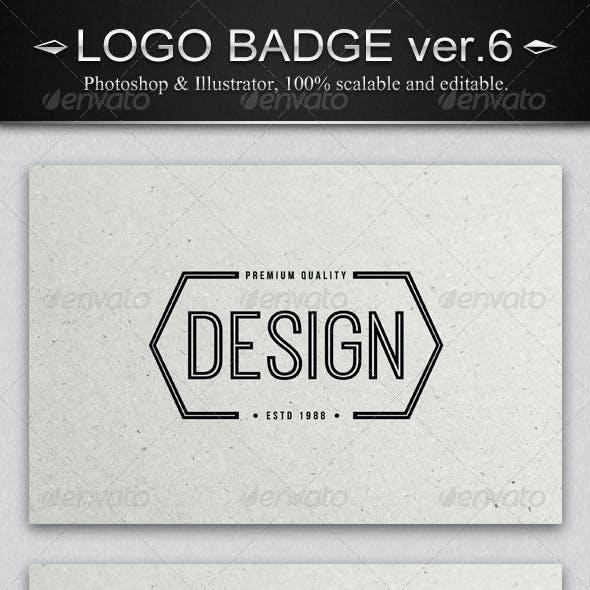 12 Vintage Logo Badges ver.6