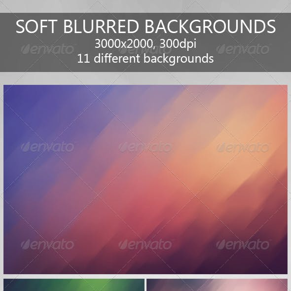 Soft Blurred Backgrounds