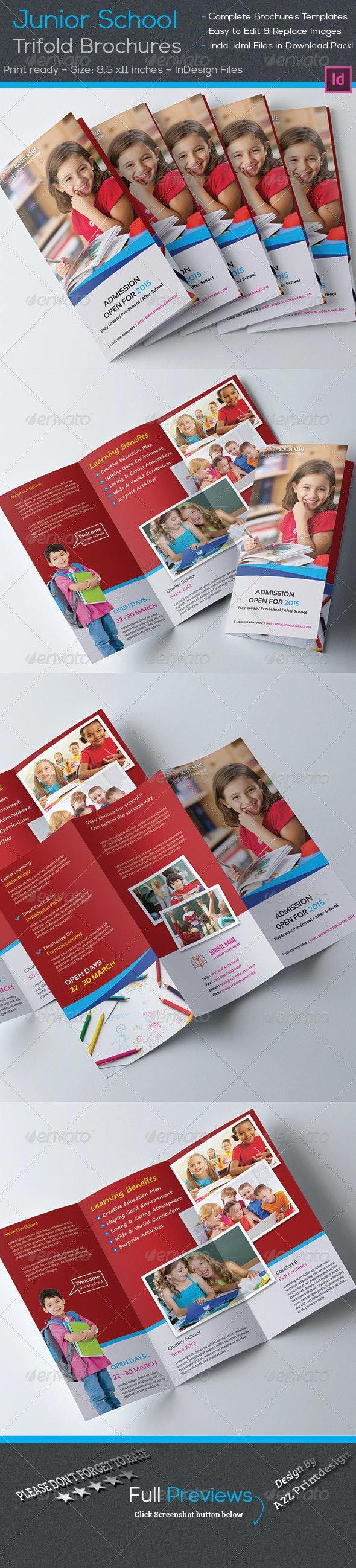Junior School Trifold Brochures - Corporate Brochures