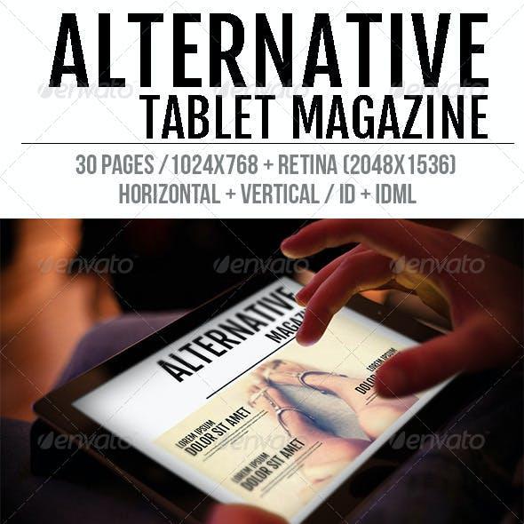 iPad & Tablet Alternative Magazine