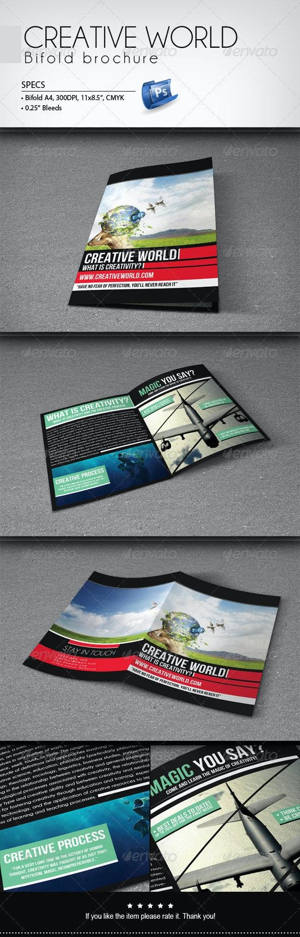 Creative World - Bifold Brochure - Informational Brochures