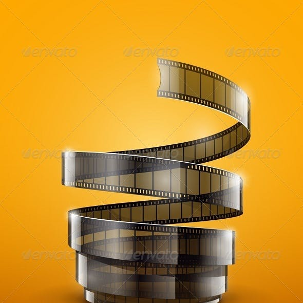 Spiral of Cinematography Film Tape