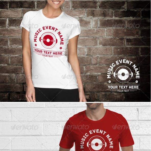 Music Event T-Shirt