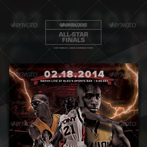 Basketball Championship Flyer/Poster