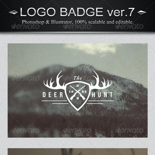 12 Vintage Logo Badges Ver.7