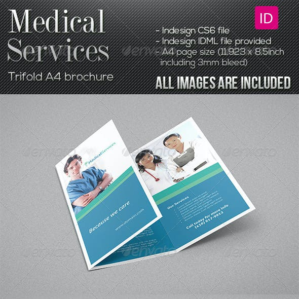Medical Services - Trifold Brochure