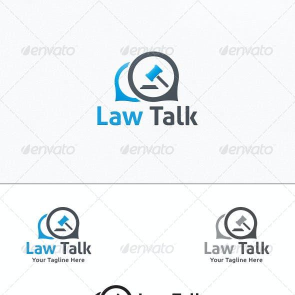 Law Talk - Logo Template