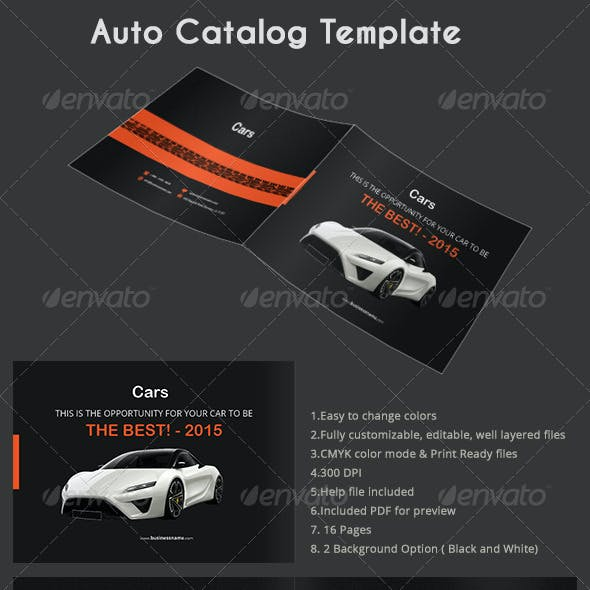 Auto Catalog Template by azadcsstune | GraphicRiver