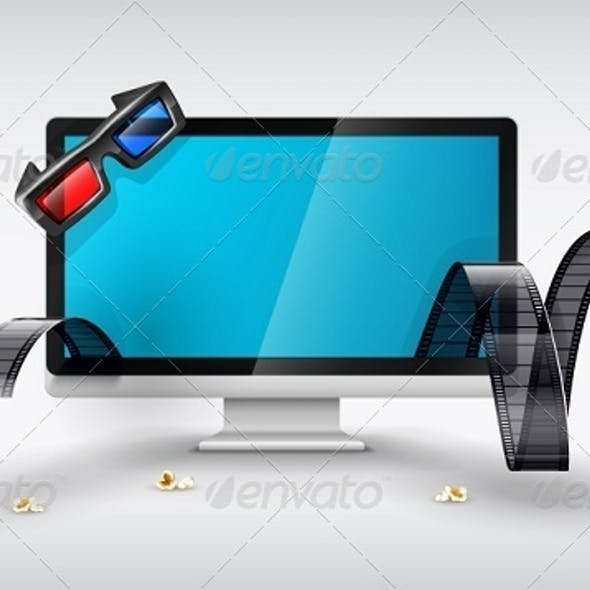 Multimedia Display For Online Watching Films