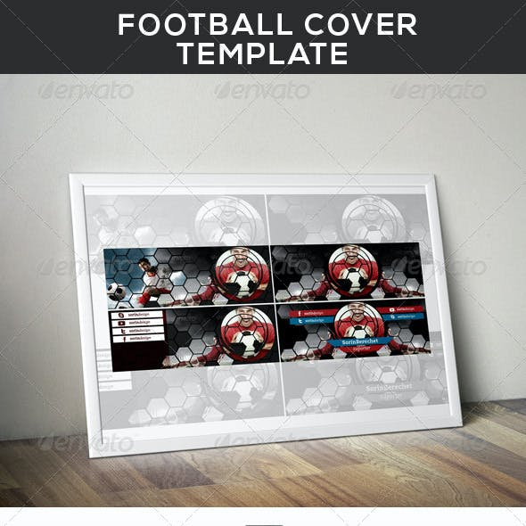 Football Cover Template