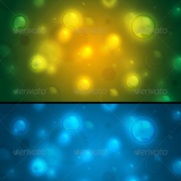 Bubbles - Set of Abstract Website Backgrounds (4K)