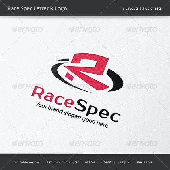 Race Spec Letter R Logo