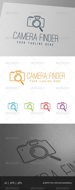 Digital Camera Photography Search Logo