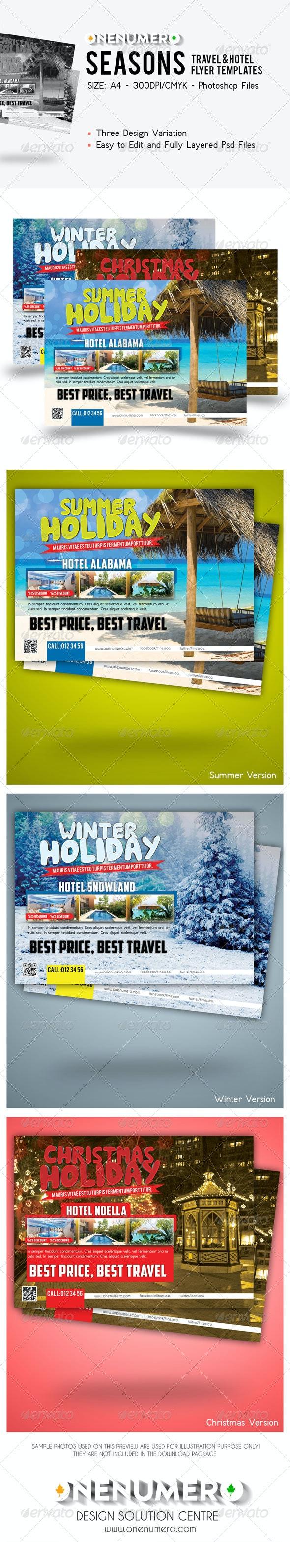 Seasons Travel - Hotel Flyer