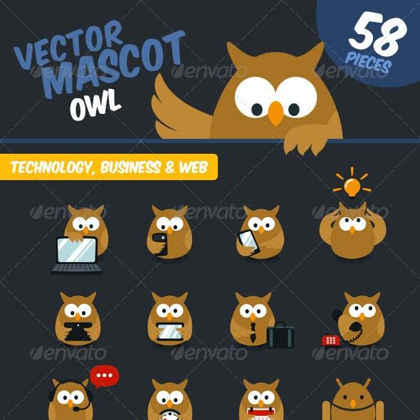 Owl Website Mascot
