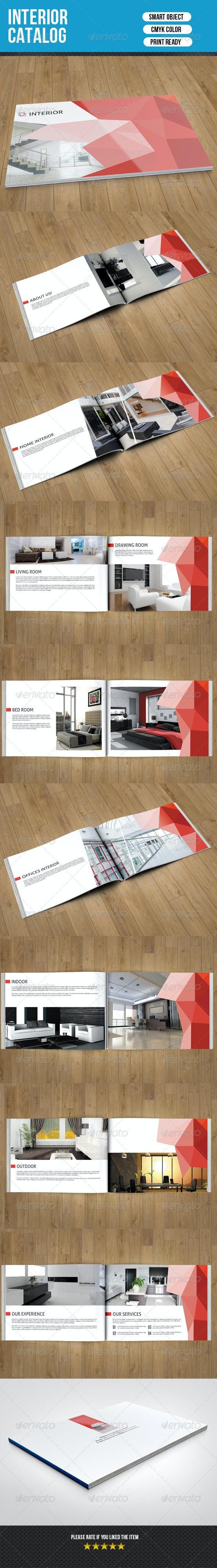 Interior Catalog Template-V08 - Catalogs Brochures