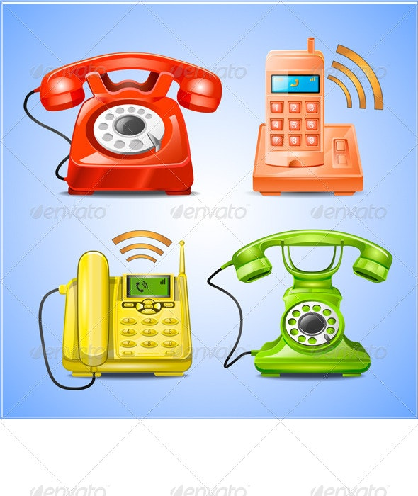 Phone Icons - Technology Icons