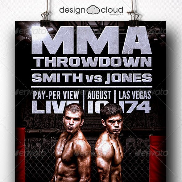 Throwdown Flyer Template