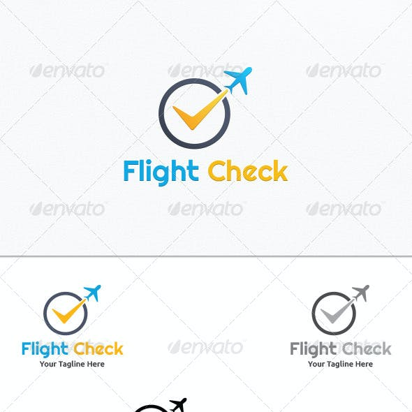 Flight Check - Logo Template