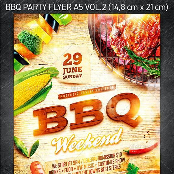 BBQ Party Flyer Vol.2