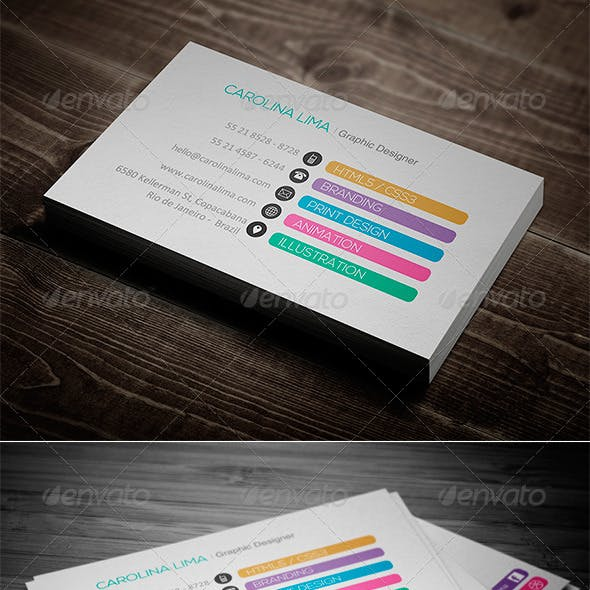 Creative Designer Business Card Vol. 05