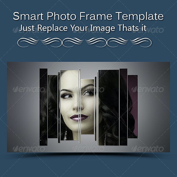 Smart  Photo Frame Template