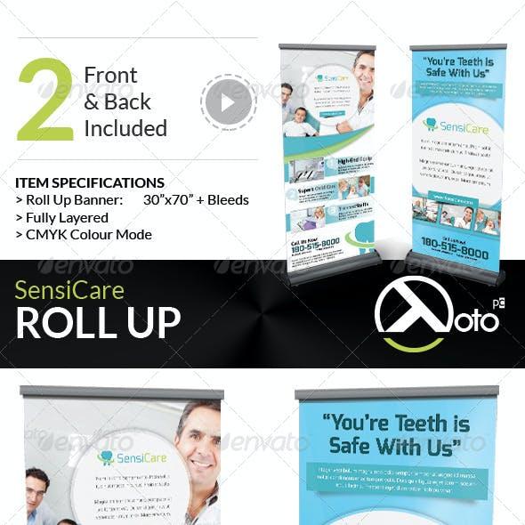 SensiCare Medical Dental Health Roll Up
