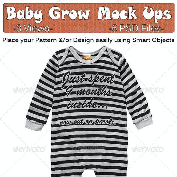 Baby Grow Mock Ups