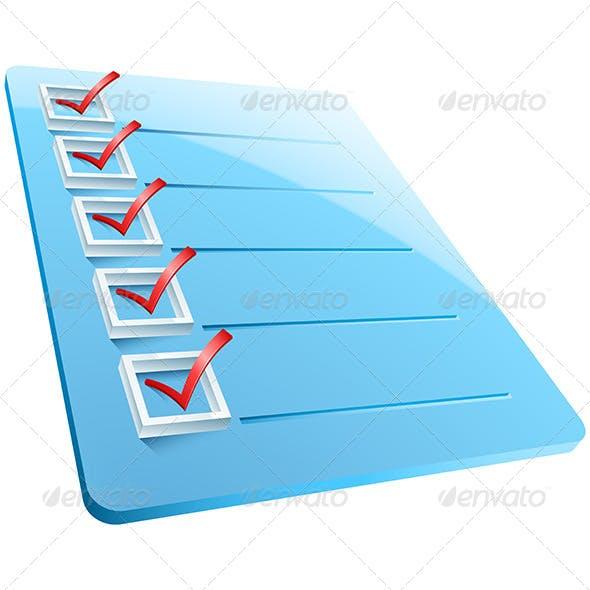Checkmarks Board