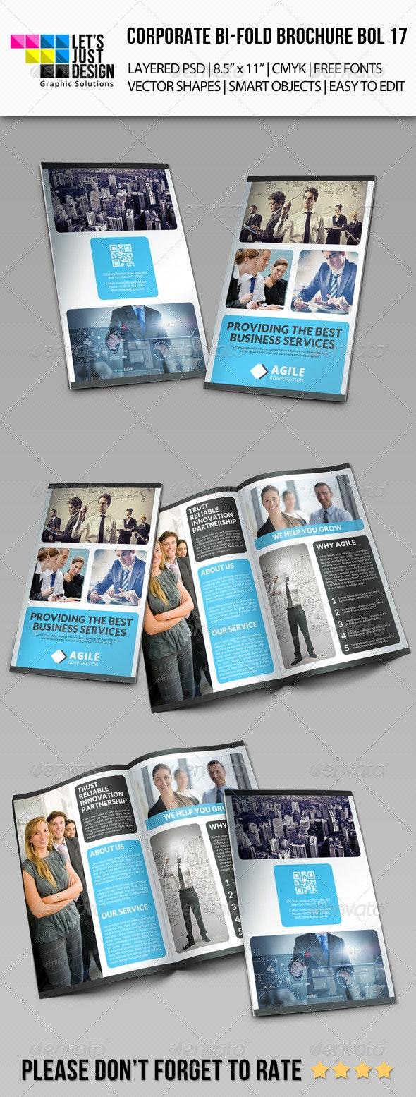 Corporate Bi-Fold Brochure Vol 17 - Corporate Brochures