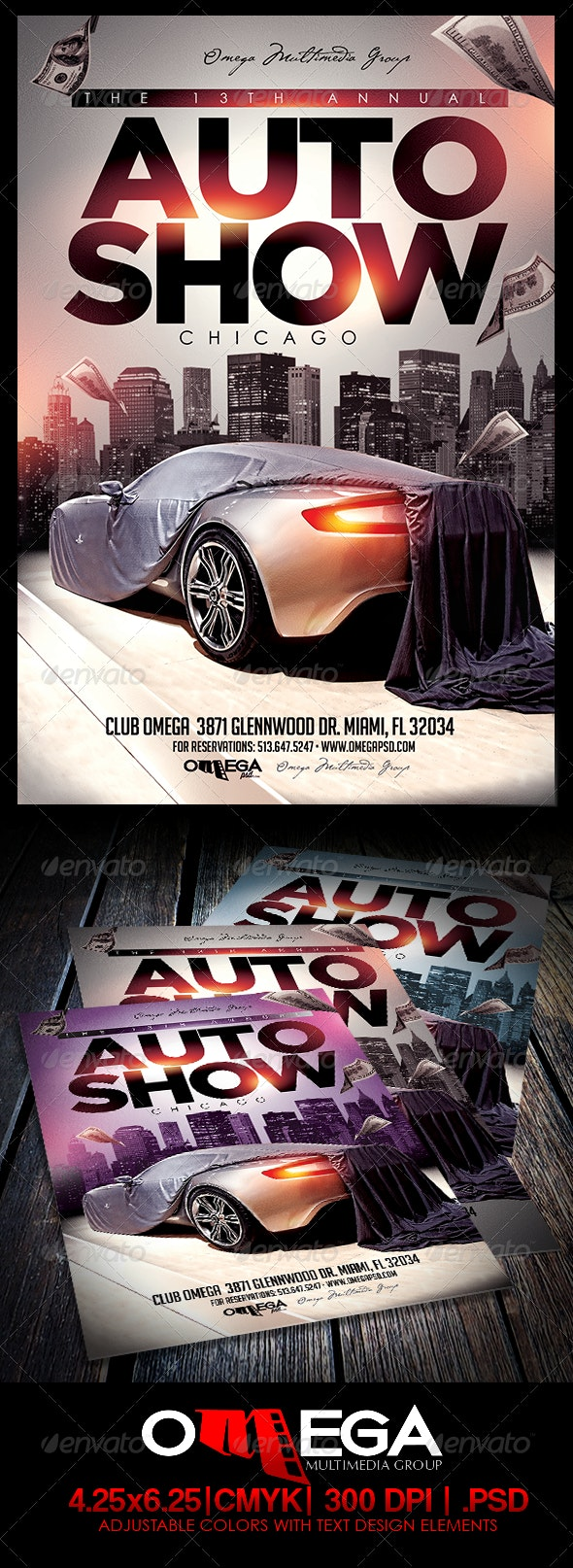 Auto Show - Events Flyers