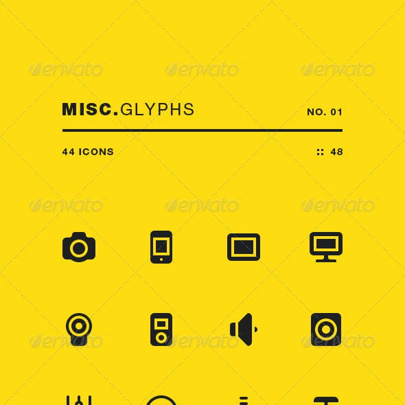 Misc Glyphs 01