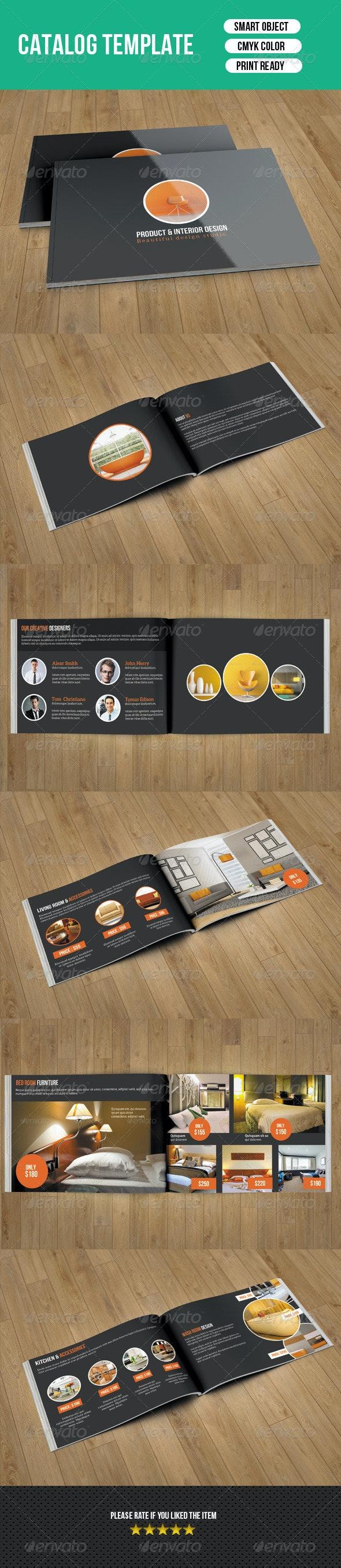 Interior Catalog Template-V11 - Catalogs Brochures