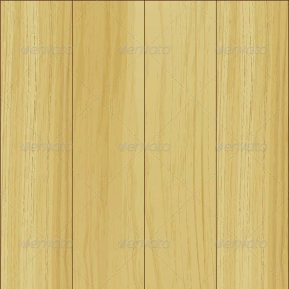 Empty Wooden Template