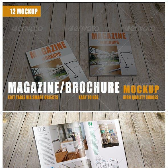 Magazine/Brochure Mockup